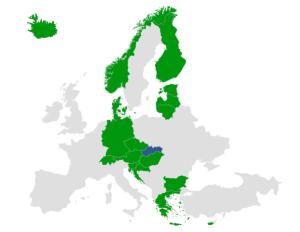 Mapka bezpečných krajín